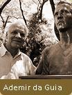 Rocco Escultor: busto de Ademir quebrou maldição do Divino