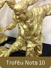 Diário de São Paulo comemora 16 anos do Troféu Nota 10 - escultura de Nelson Rocco